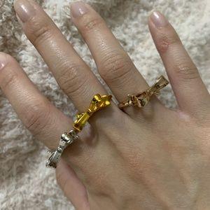 Kate Spade - Skinny Mini Bow Ring - Gold